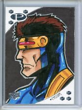 2017 Marvel Premier CHARACTER SKETCH #2 CYCLOPS/Patrick Giles #d 1/1 OT