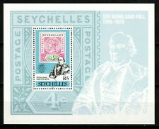 Seychelles stamps 1979 MNH Sheet - Sir R. Hill Stamp On Stamp