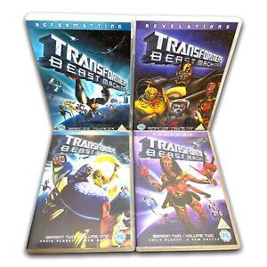 Transformers Beast Wars - Complete Seasons 1 & 2 - Rare Region 2 DVDs