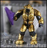 HALO MEGA BLOKS COVENANT GOLD ELITE COMBAT W/ BEAM RIFLE MINI FIGURE # 96933