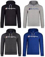New Men's Champion Logo Hooded Sweatshirt Jumper Sweater Hoodie Hoody Pullover