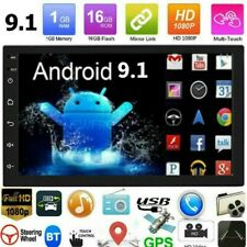 "7"" 2 DIN Android 9.1 AUTORADIO Mit GPS Navigation NAVI BLUETOOTH WIFI DOPPEL MP5"