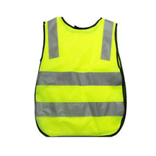Unisex Kid Reflective Vests Outdoor Safety Security Visibility Strips Jacket NEW