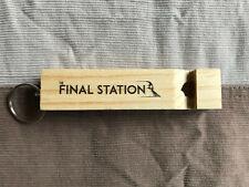 La estación final promocional de Madera Silbato Pax Prime 2015