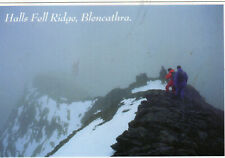 Postcard  Cumbria Halls Fell Ridge Blencathra  unposted