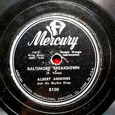 BOOGIE WOOGIE 78: ALBERT AMMONS Baltimore Breakdown/In a Little Spanish Town