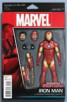 Invincible Iron Man #1 Action Figure Variant Tony Stark Marvel Comics Unread New