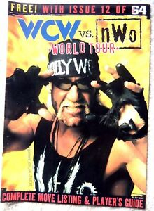 74638 Total 64 -  WCW vs NWO World Tour Players Guide Magazine 1997