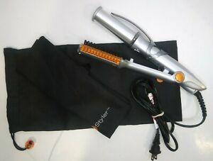 "Instyler Rotating Hot Iron Hair Straightener Brush IS-1001 In Styler 1 1/4"""
