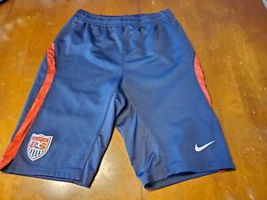 USMNT Nike Official Training Knee  Shorts Worn By Players size M