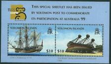 SOLOMON ISLANDS - 1999 'SHIPS' World Stamp Expo Miniature Sheet MNH [8169]