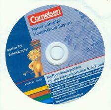 CD Neuer Lehrplan Hauptschule Bayern - Cornelsen