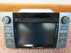 14 15 16 17 18 19 Toyota Tundra Entune PLUS AM-FM Radio CD PLAYER apps OEM XM HD