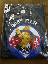 POLO SHIRT US PARATROOPER 101 AIRBORNE 506 PIR BoB EASY COMPANY TAILLE S NEW