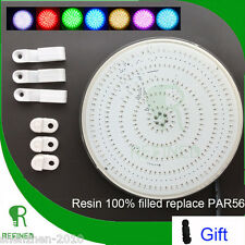 Resin fully injected LED Par56 swimming pool light bulb board 42W CE RoHs IP68