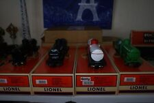 Lionel 26936 SET OF 4 Die Cast Tank Cars;Getty, Sinclair, UP, &  Phillips