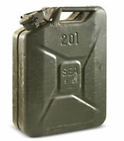 20L Steel Jerry Can Green NATO Military Surplus Storage Collectible Display Hunt