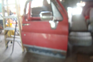 1973-87 Chevy Or GMC Pickup Doors  Pr RUST FREE Used GM Quality
