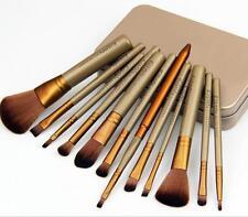 Pro Soft 12PCS/Set Fashion Makeup Brushes Cosmetic Eyebrow Shadow Lip Brush Kit