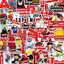 50PCS Supreme Hypebeast Authentic Sticker Pack Car Laptop Luggage Stickers