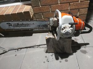 STIHL CHAINSAW S-10...VINTAGE MUST SEE