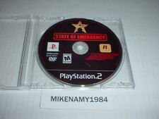 STATE OF EMERGENCY game only in case for Playstation 2 PS2