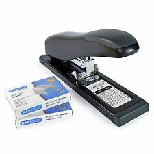 Rapesco Heavy Duty Stapler Bundle = HD-100 Stapler + 2,000 x 923/10 Staples