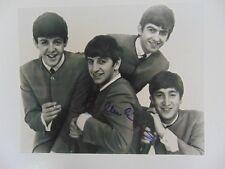 """The Beatles"" Paul McCartney hand Signed 8X10 B&W Photo Todd Mueller COA"