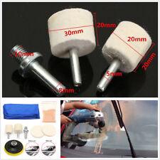 8Pcs Car Glass Windshield Side Windows Polishing Kit Scratch Remover Repair Kits