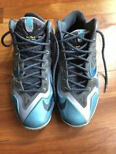Nike Lebron 11 Gamma Blue - Size 9