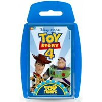 Toy Story 4 TOP TRUMPS - Childrens Card Game
