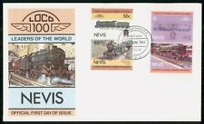 Mayfairstamps Nevis FDC 1983 Train Combo Nevis First Day Cover wwi_91333