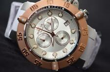 INVICTA SUBAQUA NOMA III OCEAN QUEST ROSE GOLD WHITE RUBBER WATCH BAND 10547