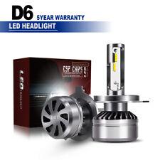 2x H4 60W 12000LM CSP DOT LED Car Headlight Kit 6000K Hi/Lo Beam Light Bulbs LXK