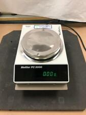 Mettler PC 2000 Digital Lab Balance TESTED WORKS