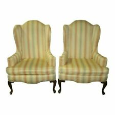 Shop Queen Anne Desk Chair Set Free Shipping Today >> Queen Anne Antique Chairs 1950 Now For Sale Ebay