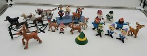 Rudolph and The Island of Misfit Toys Playing Mantis Mixed Lot Of Toy Figures