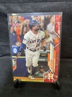 2020 Topps UK Edition Jose Altuve Big Ben Parallel #16/99