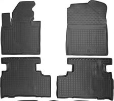 Rubber Carmats for Kia Sorento 5seat 2015- All Weather Floor Mats Fully Tailored