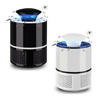 USB Electronic Mosquito Killer Bug Zapper Trap LED Light Powered Insect Catcher