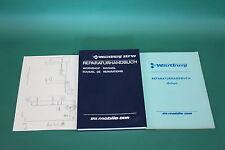 Manual de servicio Wartburg 353 W+Suplemento de cinta de Año de fabricación 1985