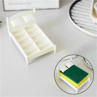 Kitchen Sponge Holder Sponge Washer Bed Shelf Innovative Fun Sink Rack X5E0