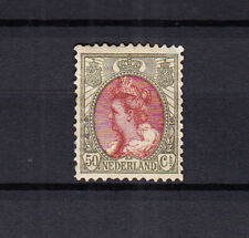 Nederland 74 Bontkraag 1899 ongebruikt met de volle originele gom, amper plakker