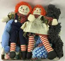 Vintage Crocheted Blankets, Raggedy Ann & Andy Lot 3095