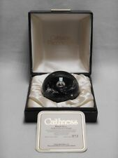 Caithness paperweight - Black Gem Limited Edition Boxed