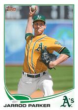 2013 Topps #211 Jarrod Paker Oakland Athletics