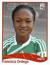 Panini FIFA World Cup 2011 Germany Women Sticker #82 Francisca Ordega Nigeria