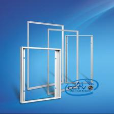 """Amovible en aluminium anodisé cadre pour 36 cellules (6"""" x 6"""" cellules) panneau solaire diy"""