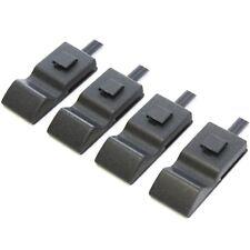 4 Fits Chevy/GMC Silverado/Sierra 07-13 Door Lock Knobs Front/Rear Ebony Black