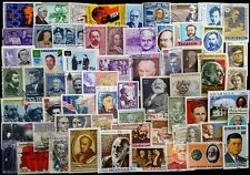 PERSONALITIES On Stamps -100Different Large-Worldwide Mixed Thematic Used Stamps